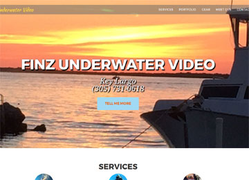 Digital Design and Consulting - Finz Underwater Video